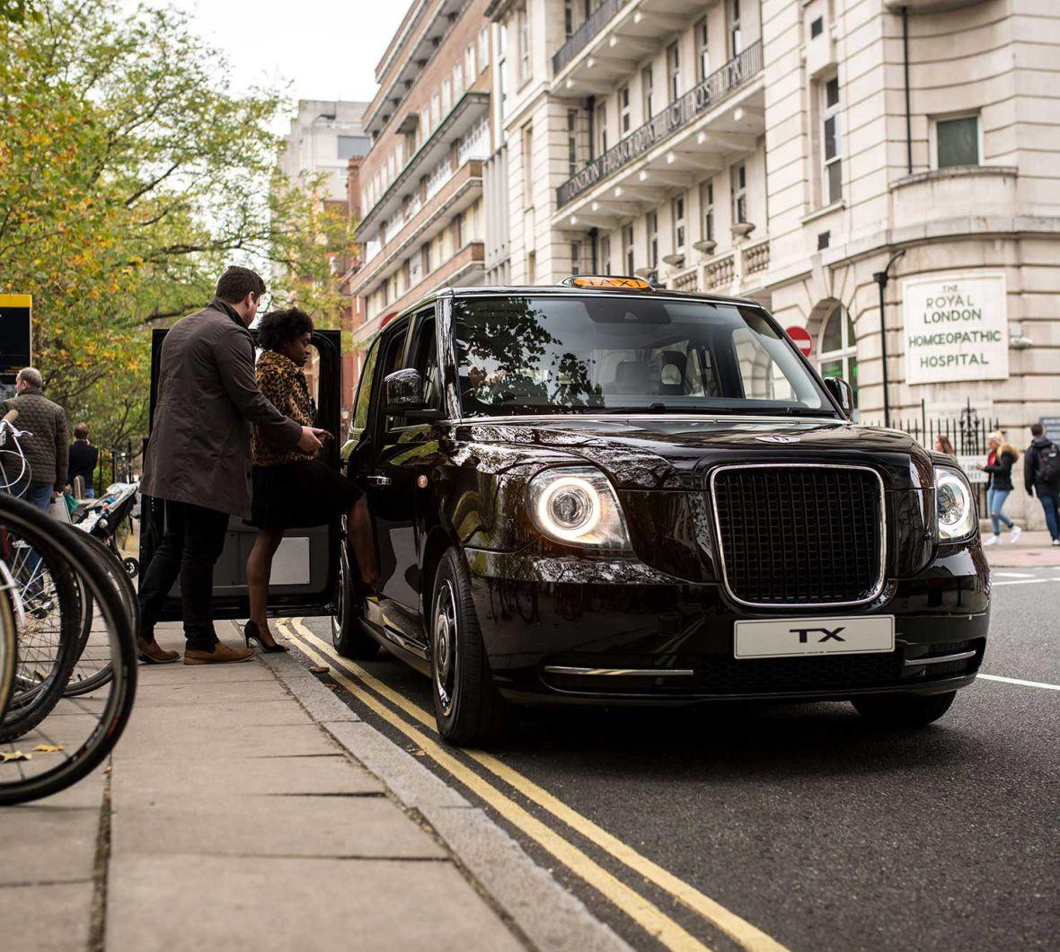 Electric black cab
