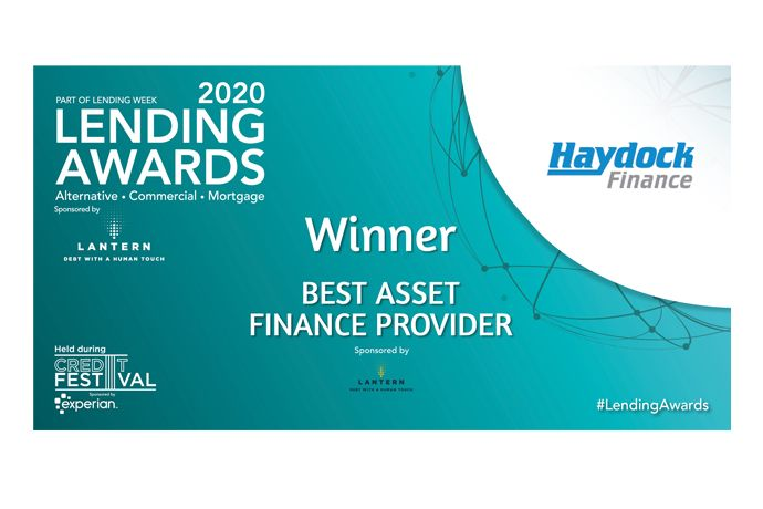 Lending Awards Best Asset Finance Provider