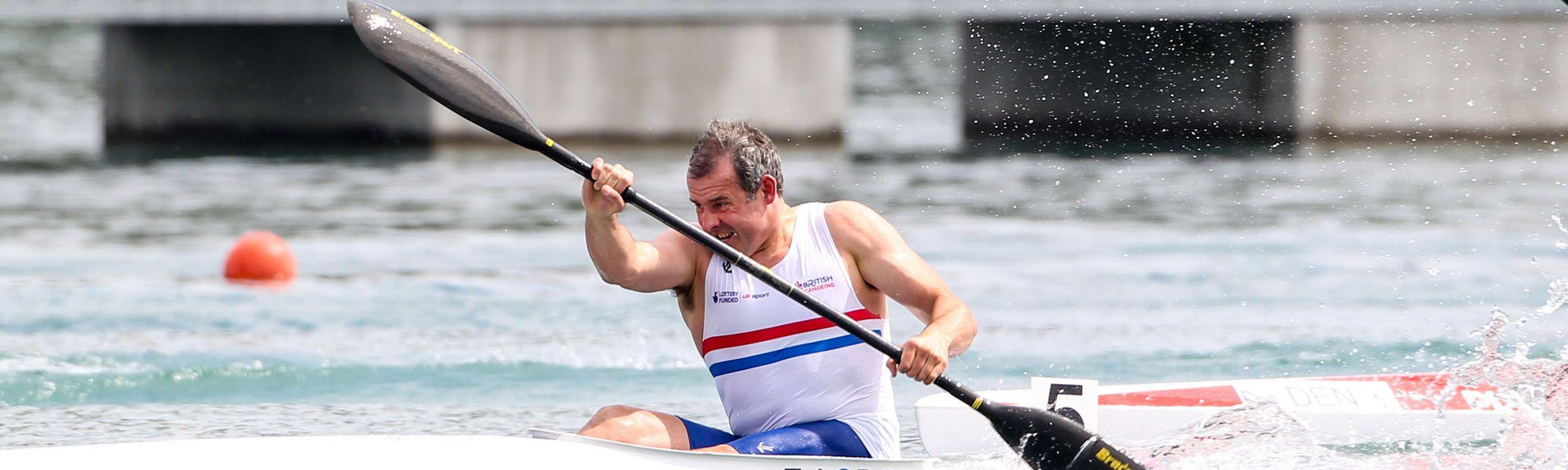 Tim Lodge GB Paralympic Canoeist